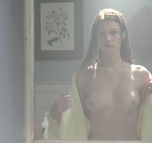 nicole fox topless in the bathroom mirror in ashley 2079 9