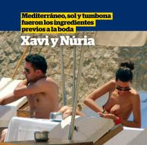 nuria cunillera topless for honeymoon with xavi 4896 8