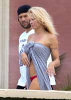pamela anderson topless run at french beach 3604 15