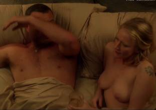paula malcomson topless in bed on ray donovan 1414 15