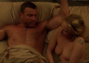 paula malcomson topless in bed on ray donovan 1414 16