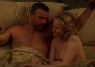 paula malcomson topless in bed on ray donovan 1414 17