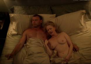 paula malcomson topless in bed on ray donovan 1414 5