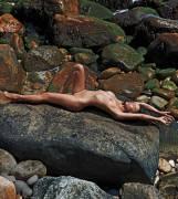 paz de la huerta nude to enjoy the beach sand in pb 9134 9