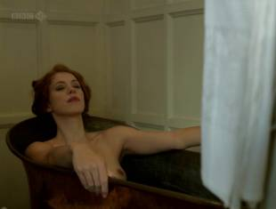 rebecca hall topless for a bath in parade end 2662 13