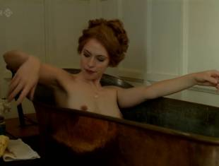 rebecca hall topless for a bath in parade end 2662 14