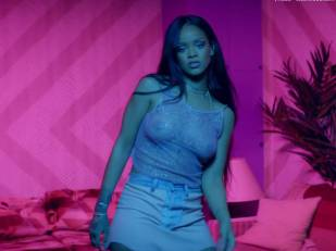 rihanna bare breasts star in work music video with drake 7062 21