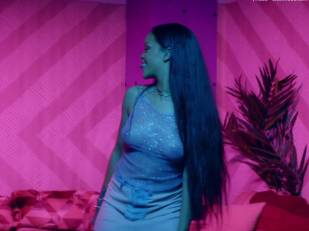 rihanna bare breasts star in work music video with drake 7062 23