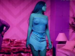 rihanna bare breasts star in work music video with drake 7062 26