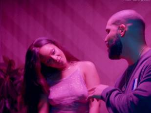 rihanna bare breasts star in work music video with drake 7062 29