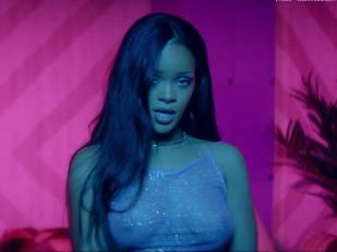 rihanna bare breasts star in work music video with drake 7062 8
