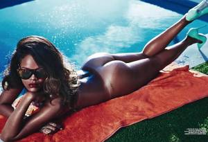 rihanna nude ass bared for summer in lui 5260 2