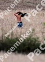 rihanna topless in the fields of northern ireland 3825 1