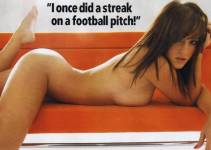 rosie jones naked on a sofa is nuts 1282 4