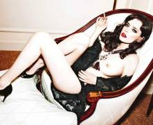 roxane mesquida topless and artful in max 3758 4
