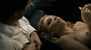 ruby brown topless in an elevator from french kiss 0783 14
