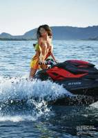 sara sampaio topless for jet ski and sand in lui 1187 3