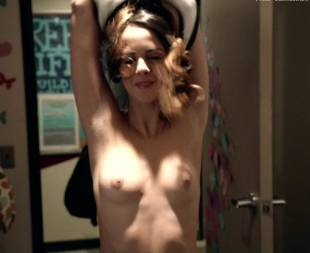shani atias topless with a smile on shameless 6145 4