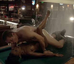 shanola hampton nude sex on pool table on shameless 9749 11