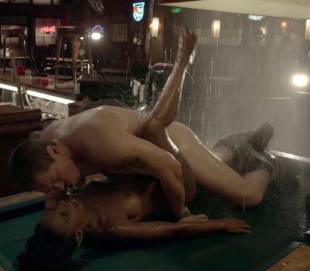 shanola hampton nude sex on pool table on shameless 9749 13