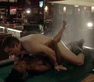 shanola hampton nude sex on pool table on shameless 9749 3