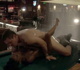 shanola hampton nude sex on pool table on shameless 9749 4