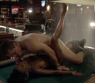 shanola hampton nude sex on pool table on shameless 9749 6