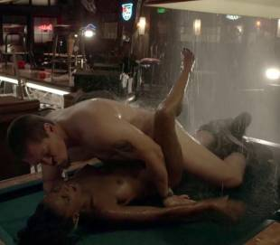 shanola hampton nude sex on pool table on shameless 9749 8