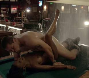 shanola hampton nude sex on pool table on shameless 9749 9