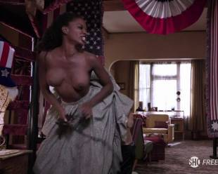 shanola hampton topless to overcome on shameless 1416 11