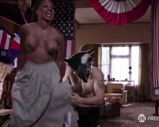 shanola hampton topless to overcome on shameless 1416 4