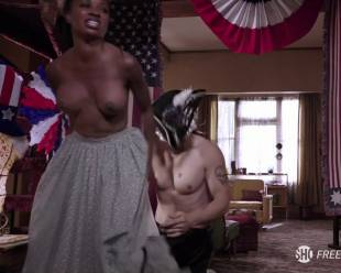 shanola hampton topless to overcome on shameless 1416 6