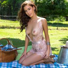 sophie anne nude for playboy picnic with milk 4336 1