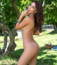 sophie anne nude for playboy picnic with milk 4336 13
