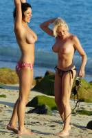sophie howard and jo hicks topless together dont need a float 0406 9