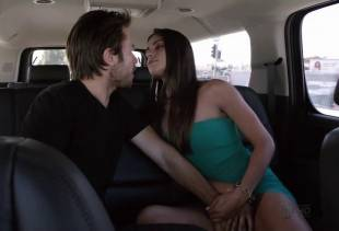 stephanie fantauzzi topless for car ride on shameless 4432 2