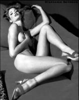 stephanie seymour nude in black and white photos 1109 7