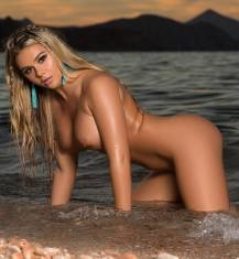 tahlia paris nude at beach is cybergirl of year 1740 22