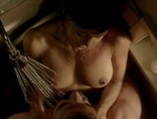 thandie newton nude in the shower on rogue 8731 16