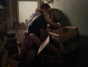 wendy michelle topless in the closet from banshee 2579 10