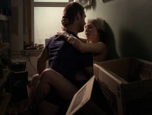wendy michelle topless in the closet from banshee 2579 9