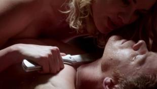 yvonne strahovski naked and on top on dexter 7386 2
