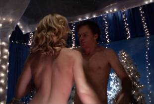 yvonne strahovski topless to flash side boobs on dexter 2975 11
