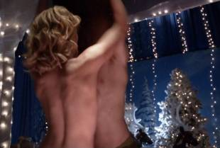 yvonne strahovski topless to flash side boobs on dexter 2975 9