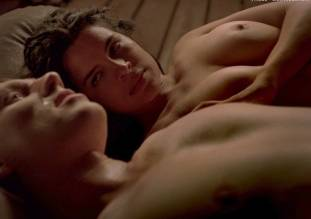zuleikha robinson topless in rome sex scene 0693 9