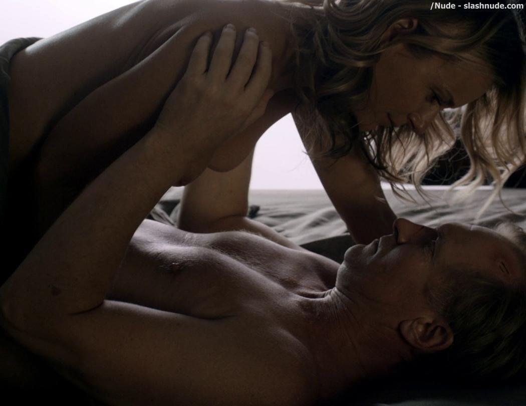 Tanya Clarke Topless On Top In Banshee 2