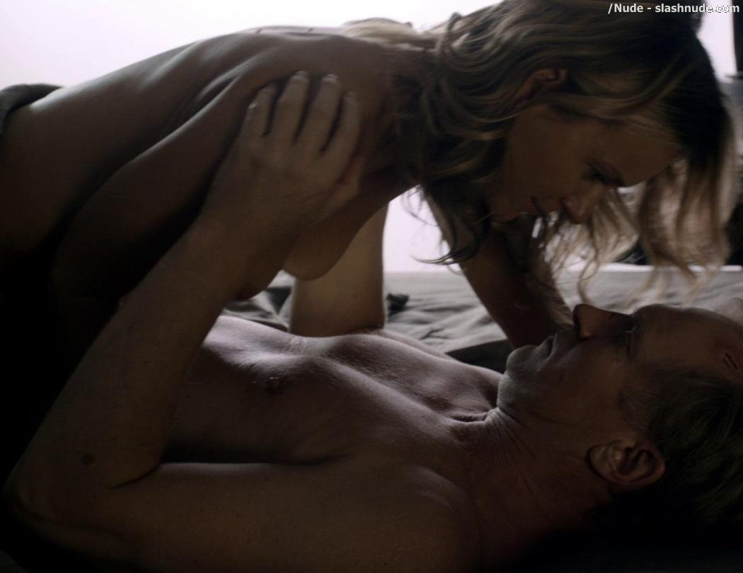 Tanya Clarke Topless On Top In Banshee 3