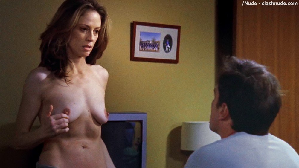 Ally Walker Topless In Tell Me You Love Me 6