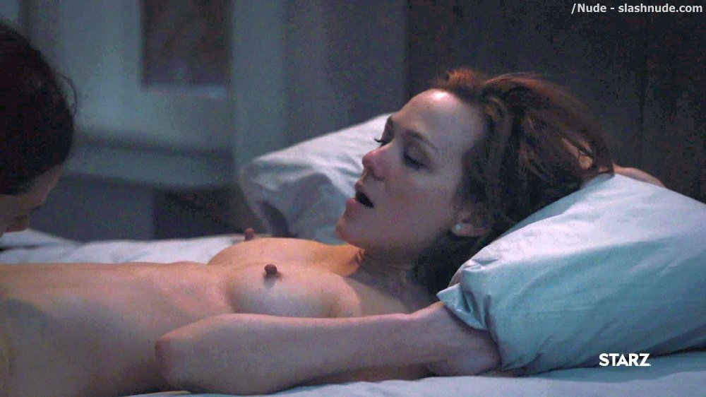 Anna Friel Louisa Krause Nude Lesbian Sex Scene In Girlfriend Experience 27