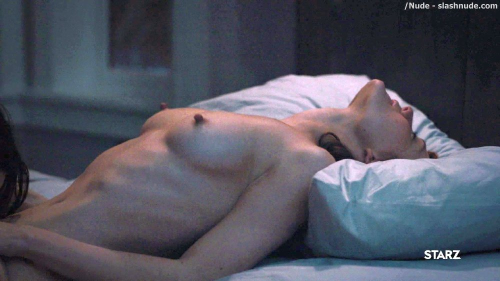 Anna Friel Louisa Krause Nude Lesbian Sex Scene In Girlfriend Experience 31